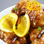 Pollo a la naranja chino
